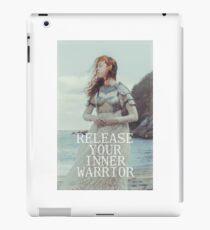 Release Your Inner Warrior iPad Case/Skin