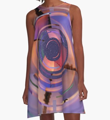 Rainbow Finder A-Line Dress