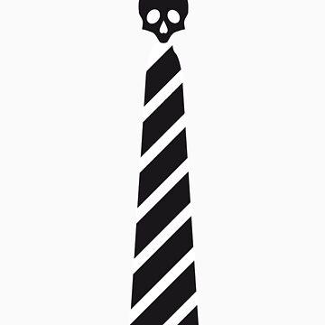 Skull Tie by plastica