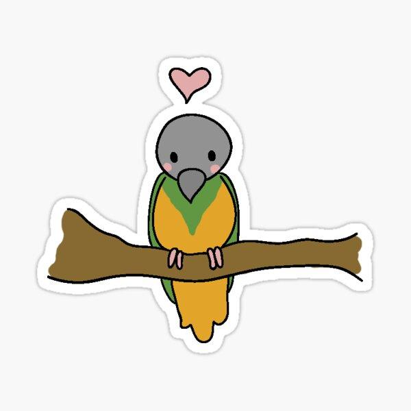 Senegal Parrot Sticker