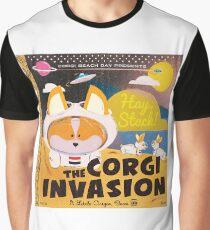 4th Annual Corgi Beach Day  Graphic T-Shirt