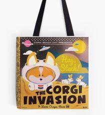 4th Annual Corgi Beach Day  Tote Bag