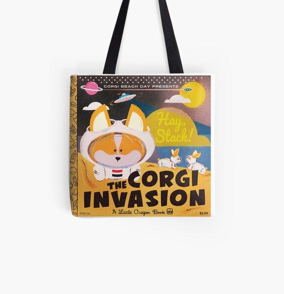 2016 - Corgi Invasion All Over Print Tote Bag