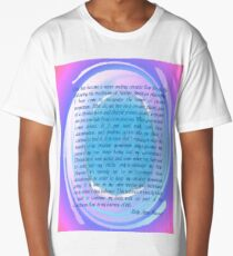Circular Momentum Long T-Shirt