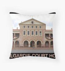 Coolgardie Court House Throw Pillow