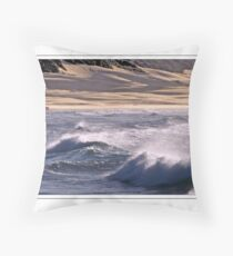 Shadows on the Dunes Throw Pillow