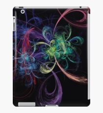 Abstract Art Space Flowers iPad Case/Skin