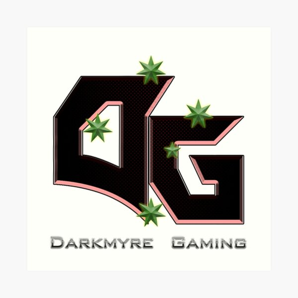 Darkmyre Gaming Art Print