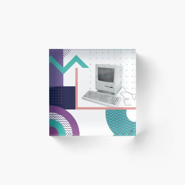 Remember 80's - #03 Acrylic Block