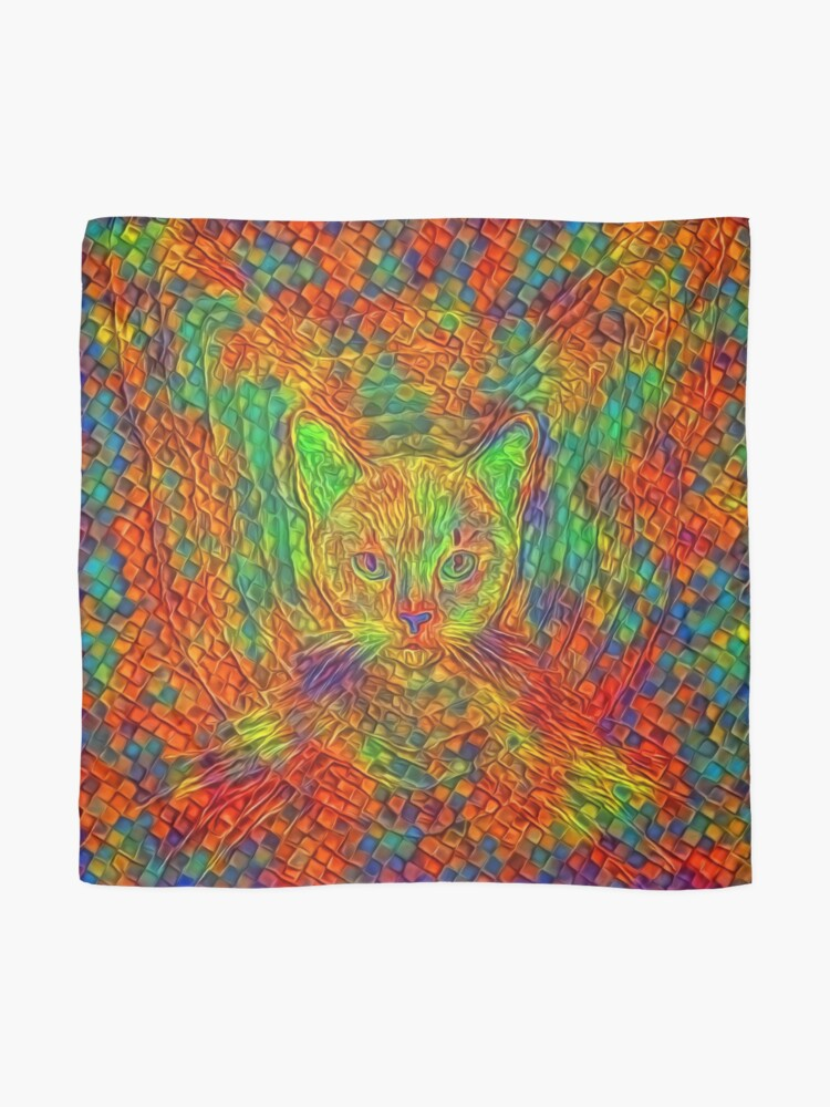 Alternate view of Cat Scarf