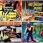Sci-Fi Movie Poster Art Collection #3 by Rockett Graphics