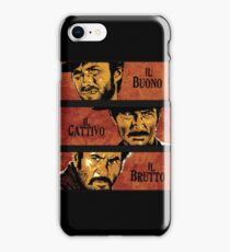 The Good, the Bad, and the Ugly iPhone Case/Skin