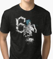 Number 6 Black Tri-blend T-Shirt