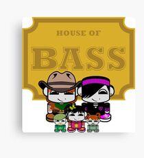 O'BABYBOT: House of Bass Family Canvas Print