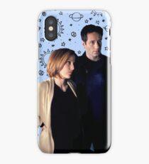 Mulder & Scully Space iPhone Case/Skin