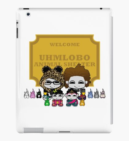 Uhmlobo Animal Shelter iPad Case/Skin