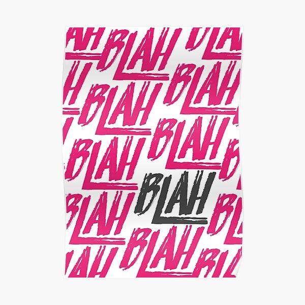 Blah Blah Blah | Spring Awakening Poster