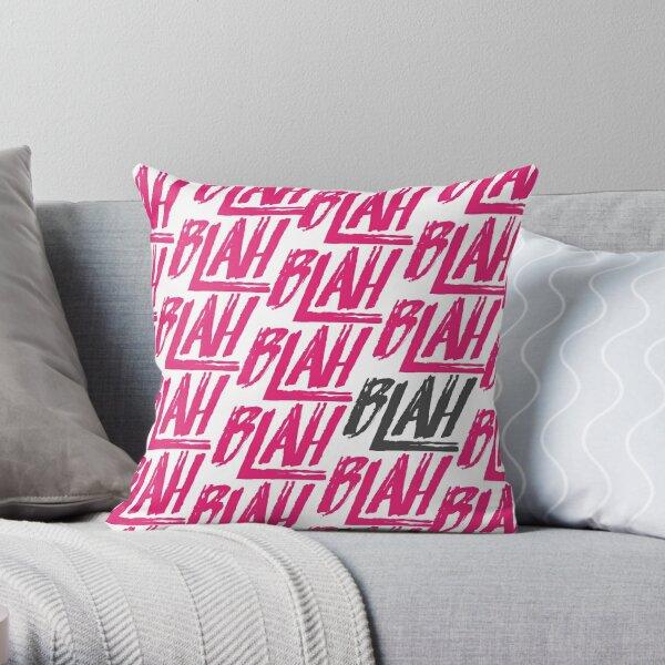 Blah Blah Blah | Spring Awakening Throw Pillow