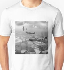 Spitfire sweep B&W version Unisex T-Shirt