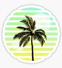 Palmier Vaporwave Sticker