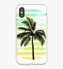 Palmier Vaporwave iPhone Case