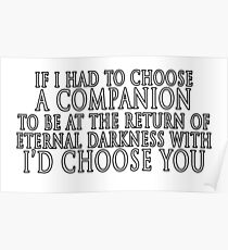 I'd Choose You Poster