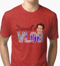 David's Vlog  Tri-blend T-Shirt