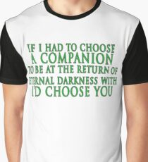 I'd Choose You (Slytherin Colours) Graphic T-Shirt