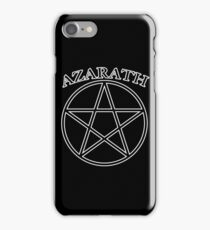 """Azarath"" (band tee style) iPhone Case/Skin"