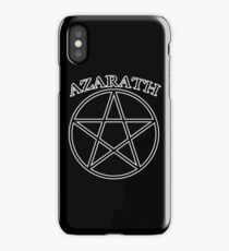 """Azarath"" (band tee style) iPhone Case/Skin"