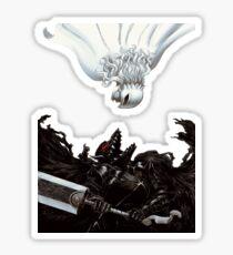 Berserk :Guts vs Griffth Sticker
