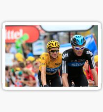 Bradley Wiggins Chris Froome Sticker