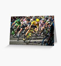 Wiggins Champs Elysées Greeting Card