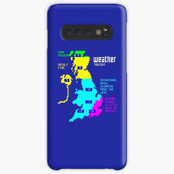 Retro Weather Forecast Samsung Galaxy Snap Case