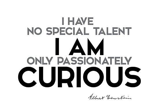 «Tengo curiosidad - einstein» de razvandrc