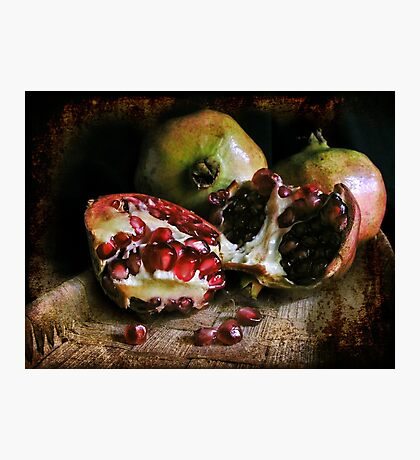 Pomegranates n.2 Photographic Print