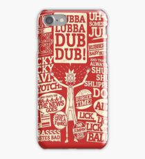 Rick and Morty : Ricks Quotes  iPhone Case/Skin