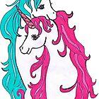 Unicorns In Love by Elekairi