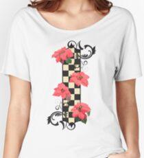 Poinsettia Women's Relaxed Fit T-Shirt