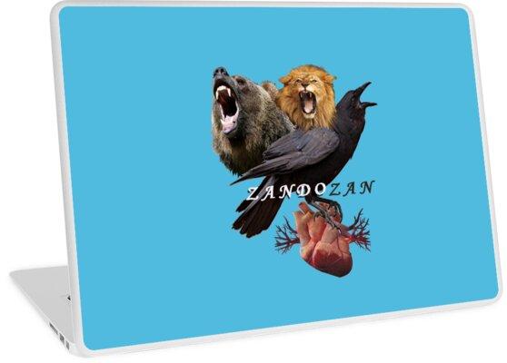«Three Headed Crow with Human Heart» de zandozan