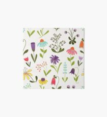 Fresh floral Art Board
