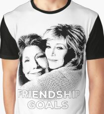 Grace and Frankie - Friendship Goals Graphic T-Shirt