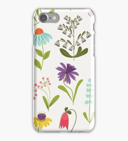Fresh floral iPhone Case/Skin