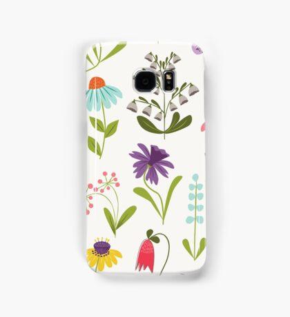 Fresh floral Samsung Galaxy Case/Skin