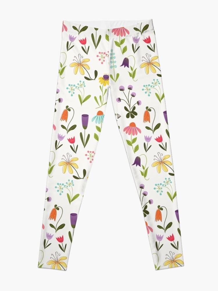 Alternate view of Fresh floral Leggings