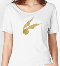 Golden Snitch Women's Relaxed Fit T-Shirt