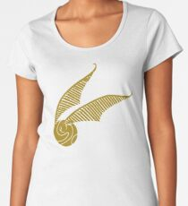 Golden Snitch Women's Premium T-Shirt