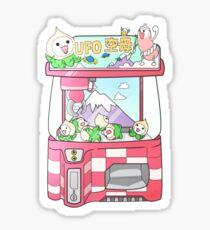 Pachimari UFO Sticker