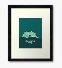 Pray For Rosemary's Baby Framed Print