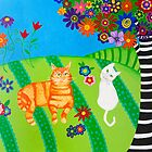Field of Cats and Dreams by Amanda Johnson